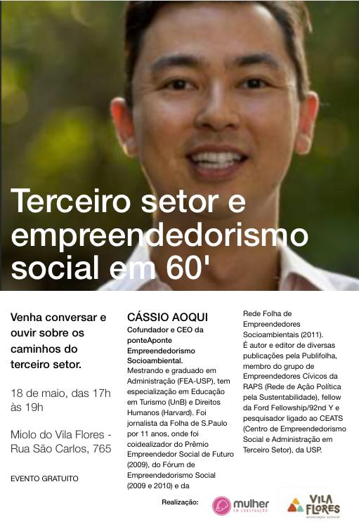 Encontro no Vila Flores debate empreendedorismo social