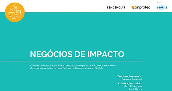 Anprotec, ICE e Sebrae lançam ebook sobre negócios de impacto
