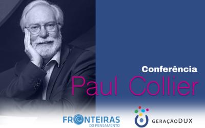 DUX no Fronteiras do Pensamento: Paul Collier – Reinvenção do Humano